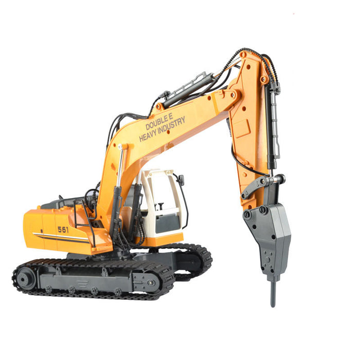 Double Eagle E561-001 1/16 17Channel RC Alloy Excavator Truck-ZHENDUO