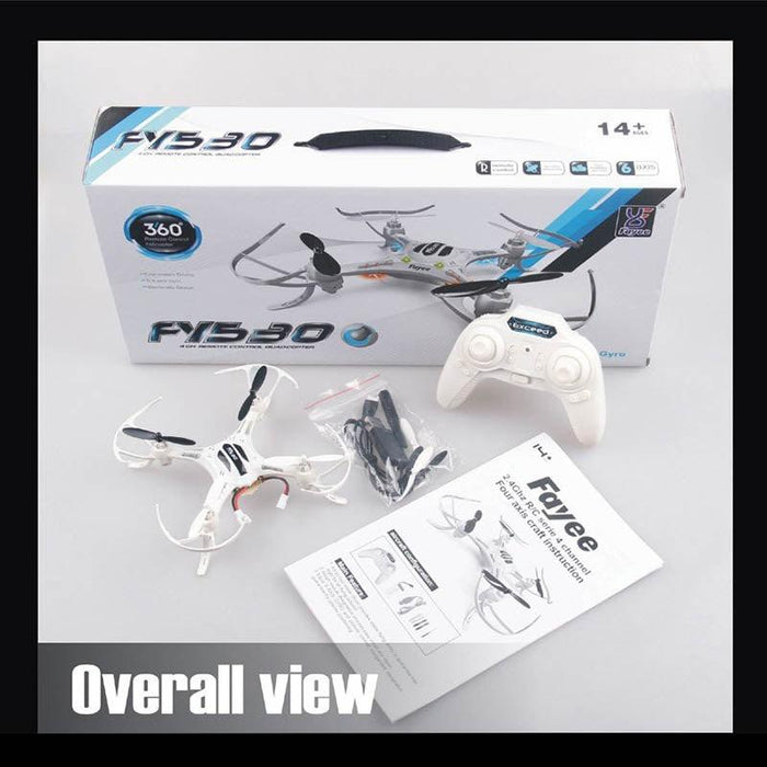 Fayee FY530 RC Quadcopter Drone with Gyro RTF Remote Control-ZHENDUO