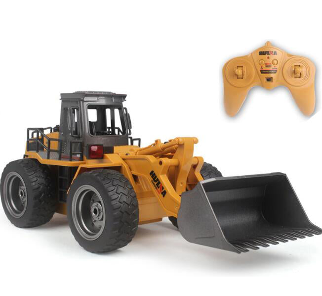 HUINA 520 6Channel Alloy Loading RC Bulldozer 1/18 2.4GHz-ZHENDUO