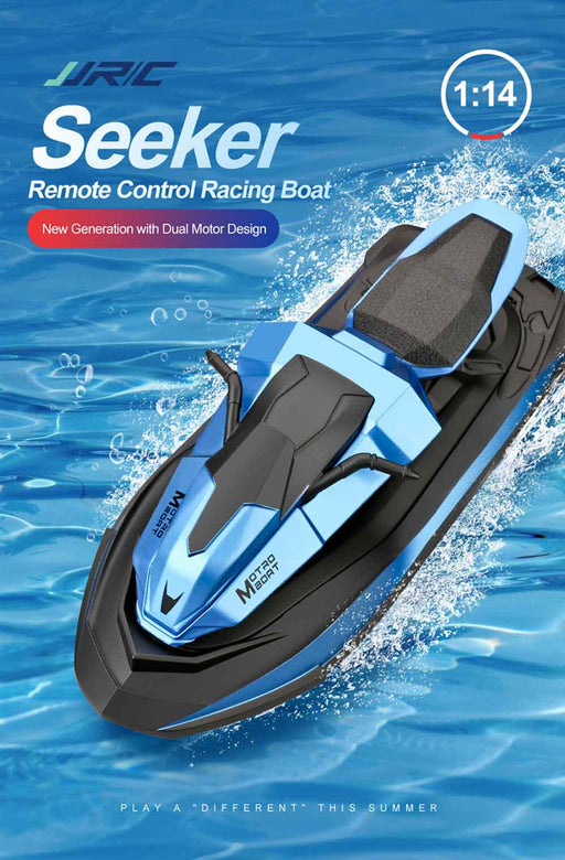 JJRC S9 Seeker RC Boat Motorcycle Remote Control Motorboat 1/14 2.4G-ZHENDUO