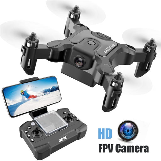 Mini Drone with/Without HD Camera Hight Hold Mode RC Quadcopter RTF WiFi FPVQuadcopter Follow Me RC Helicopter Quadrocopter-ZHENDUO