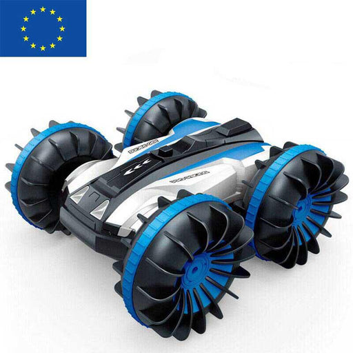 1:18 Remote Control 2.4Ghz 4WD Amphibious RC Stunt Car (AU/EU Stock)