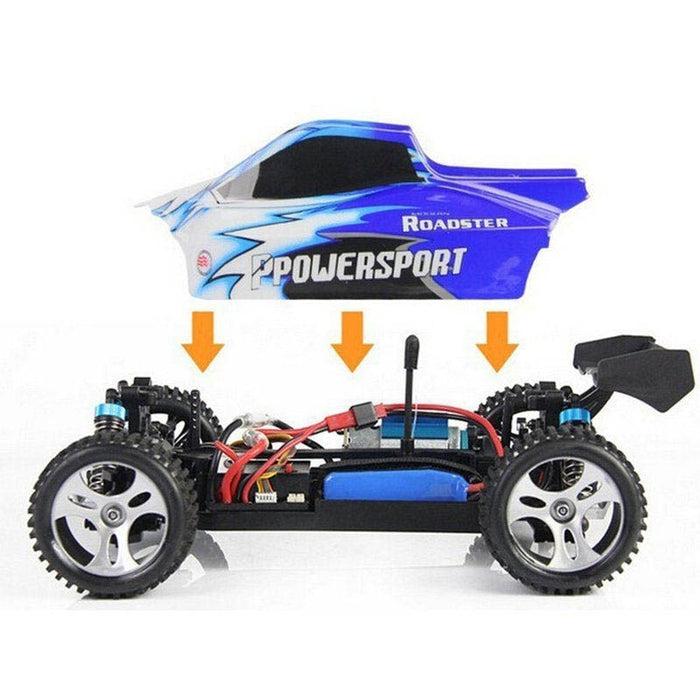 Wltoys A959 Rc Car 1/18 2.4G 4WD Off Road Buggy Truck RTR-ZHENDUO
