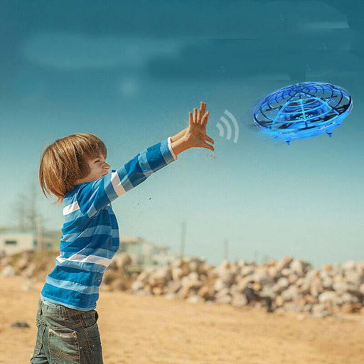 Smart Induction Suspension UFO Aircraft Flying Toy-ZHENDUO
