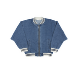 Ace Denim Bomber Jacket