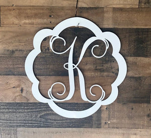 Personalized Door Initial