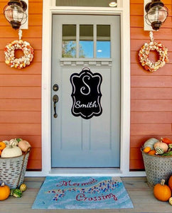 Personalized Door Name/Initial