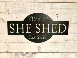 Personalized She Shed Design