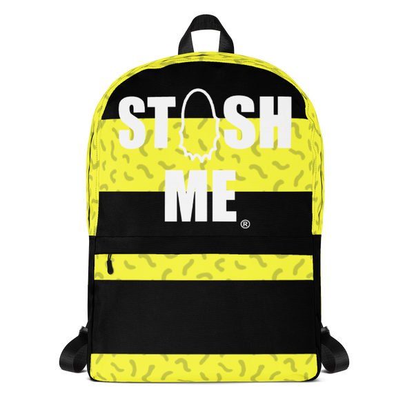 Stash Me Bumble Bee Backpack