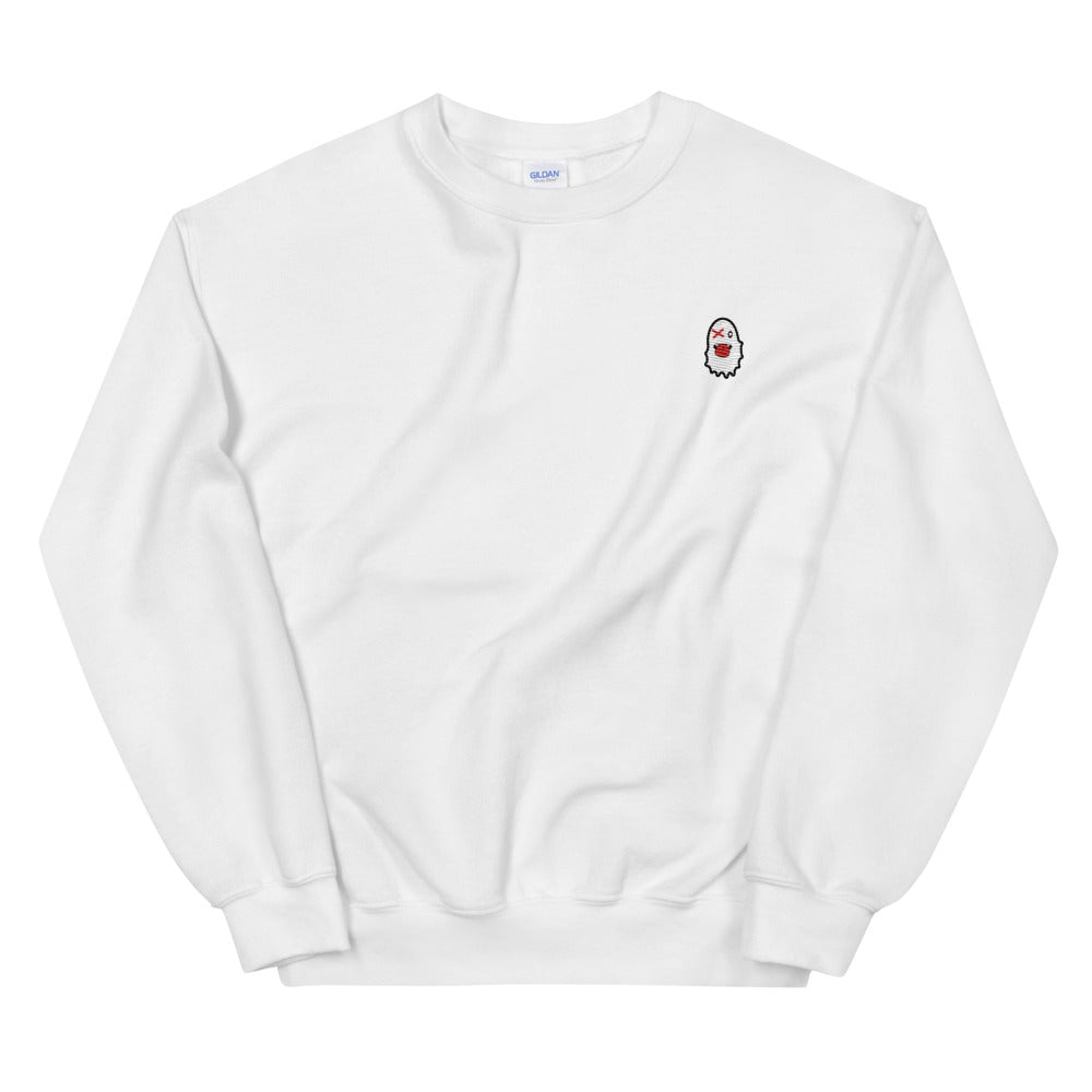 Stash Me - Embroidered Ghost Sweatshirt