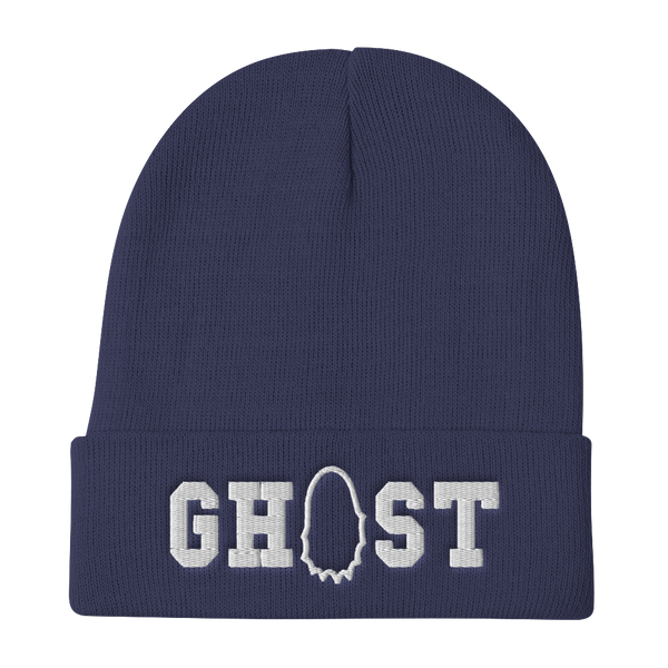 Stash Me - Ghostly Beanie