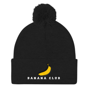 Stash Me® Banana Club Pom Beanie