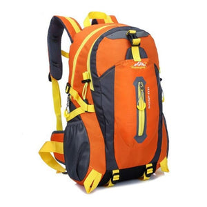 HU WAI JIAN FENG 40L Waterproof Nylon Backpack B1#W21