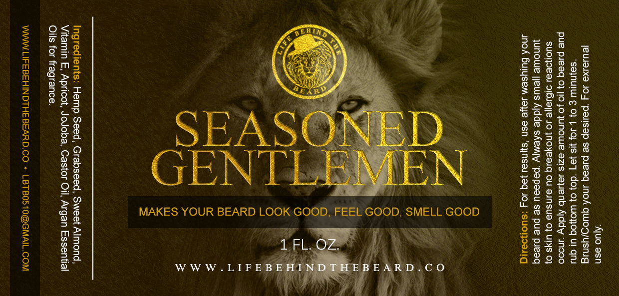 Beard Oil - Seasoned Gentleman
