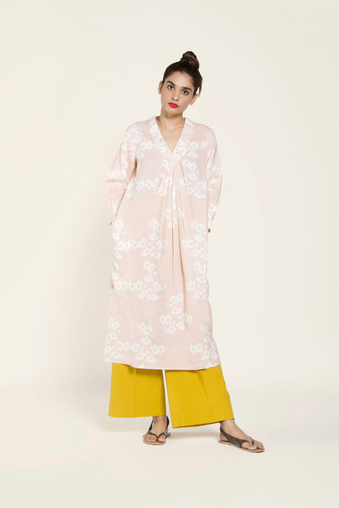 Printed Khadi Cotton Tunic