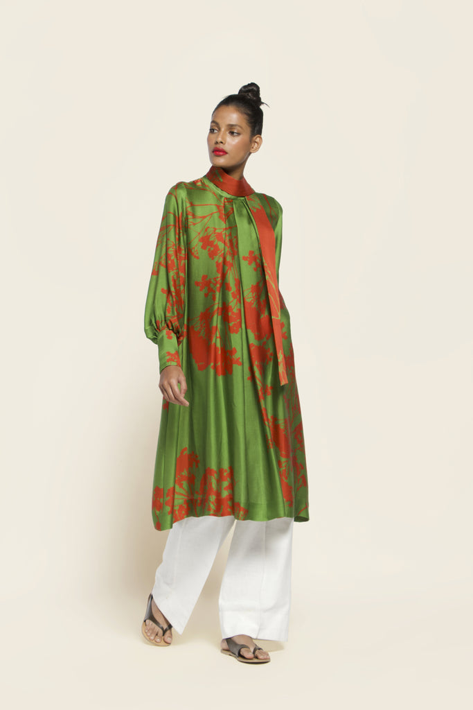 Printed Viscose Modal Dress