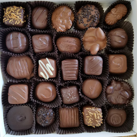 Assorted Boxed Chocolates One Pound
