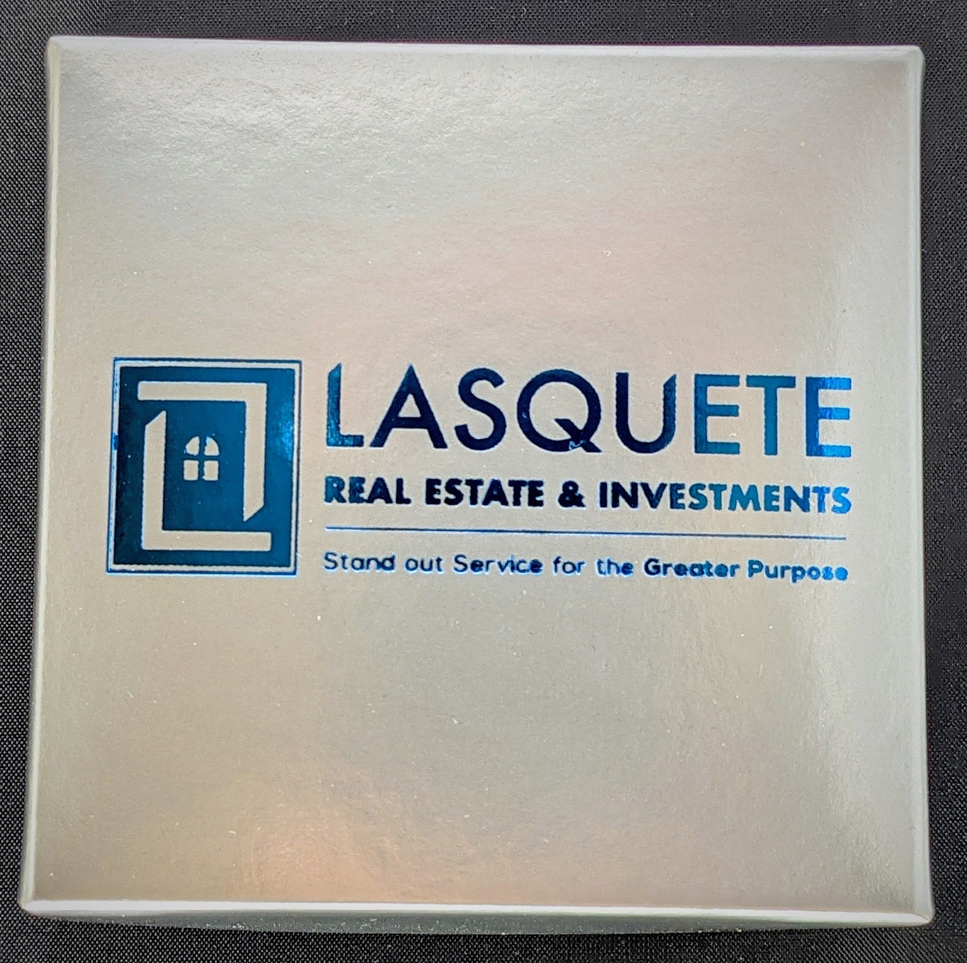 LASQUETTE 4 PIECE CUSTOM PRINTED BOX