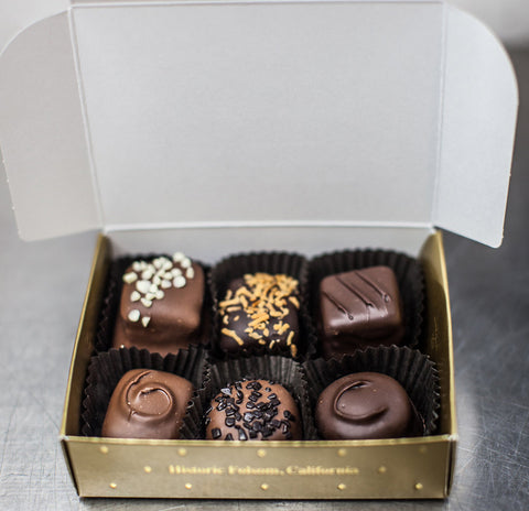 Assorted Chocolates 6 piece Sampler