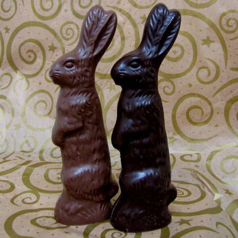Standing Rabbit Solid Chocolate 6-3/4 ounces
