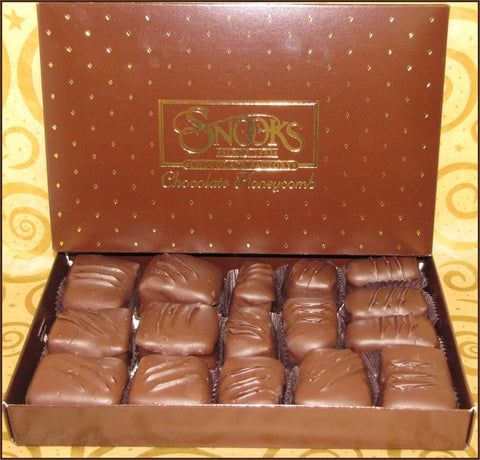 Honeycomb Milk Chocolate Gift Box