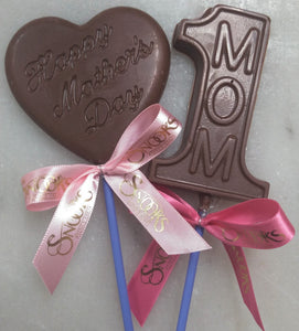 MOTHERS DAY CHOCOLATE LOLLIPOP