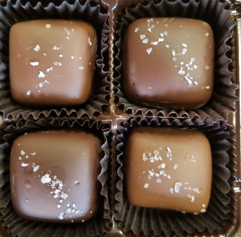 Salt Caramels - 8 Piece boxed