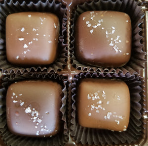 Salt Caramels - 4 Piece boxed