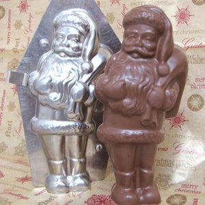 Solid Chocolate Santa 1 pound