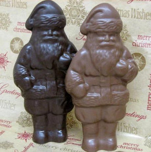 Solid Chocolate Santa 5 ounces