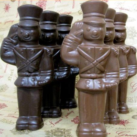 Solid Chocolate Soldiers-Milk Chocolate