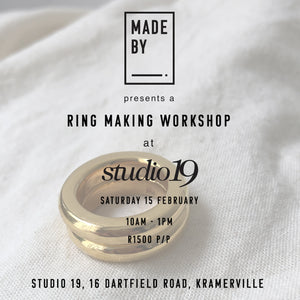 Roses and Rings : Saturday 15 February at Studio 19, Kramerville