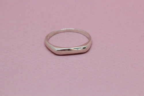 Signet Ring in Silver