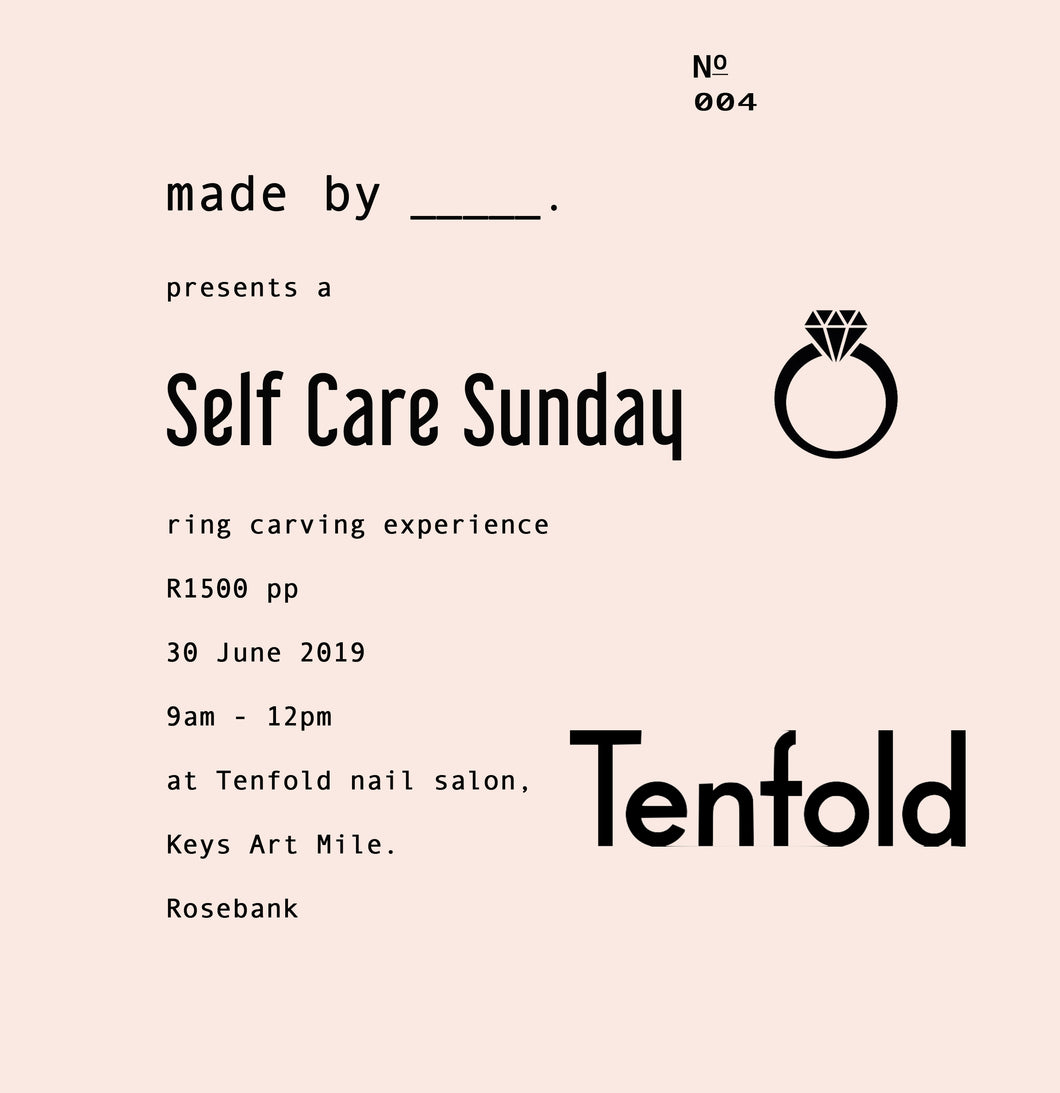 Self Care Sunday : 30 June