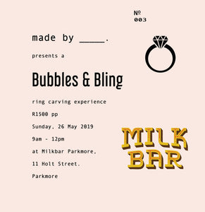 Bubbles & Bling : 26 May