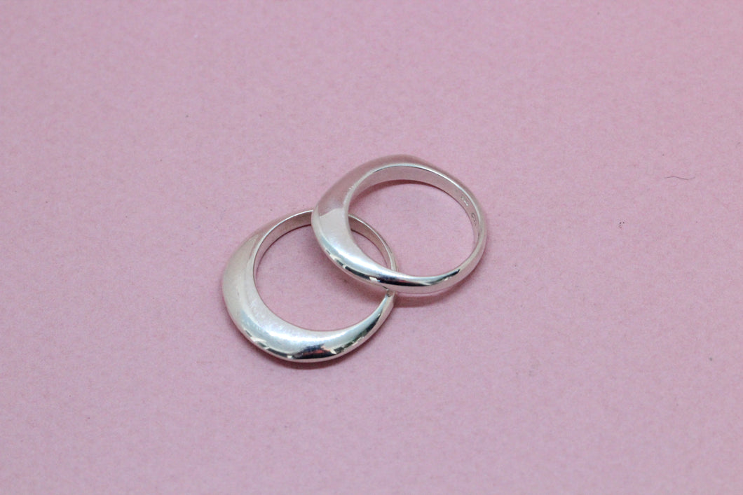 Peaked Ring in Silver