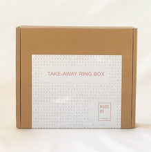 Load image into Gallery viewer, MADE BY TAKE AWAY RING BOX