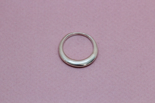Round Ring in Silver