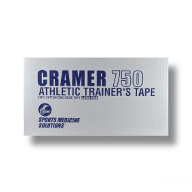 Cramer tape is essential for helping to protect and support areas of your body susceptible to injury. Whether its your wrists, your ankles or you knees, you can rely on Cramer Sports tape to help prevent and protect your joints!  This high-quality porus cloth tape is used by professional athletic trainers to protect joints from injury and sprains and provides support to help speed recovery after injury.