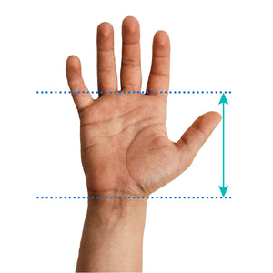 Men's finger base size chart