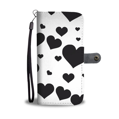 I Love Hearts Wallet Case