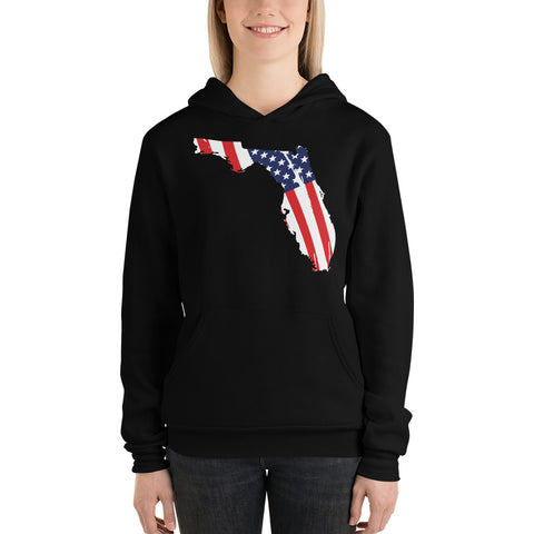 Florida Flag Ladies Hoodie