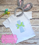 Cross Shirt - Boys Easter Shirt - Christian Shirt