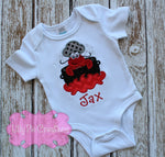 Kids Crawfish Boil Shirt - Crawfish Applique T-shirt