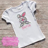 Kids Easter bunny Shirt - Lilly Pie Creations