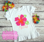 Girls Hawaiian Shirt - Lilly Pie Creations