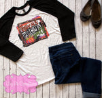 Hocus Pocus Y'all Halloween Shirt - Ladies Halloween Raglan