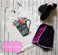 But First Coffee Tank Top - Lilly Pie Creations