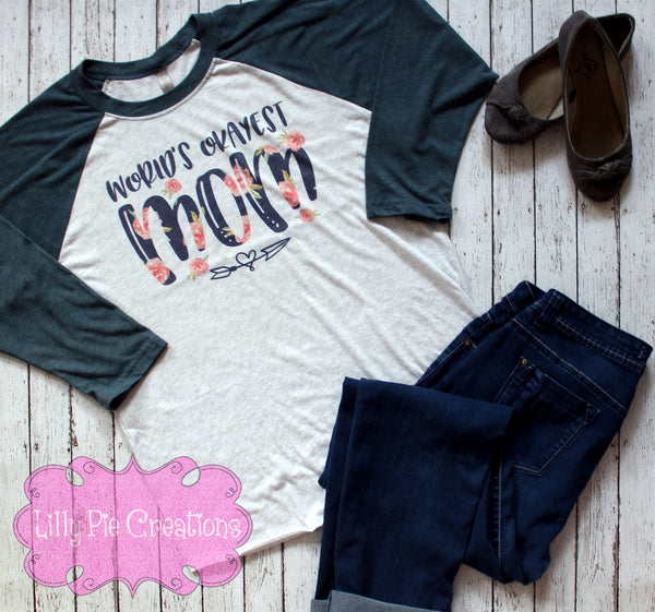World's Okayest Mom Shirt - Lilly Pie Creations
