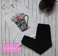 Coffee workout tank - Lilly Pie Creations
